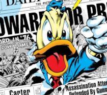 Dettaglio della cover di Howard the Duck #8