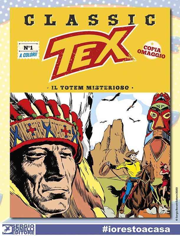 Scarica gratuitamente il primo numero di Tex in versione digitale