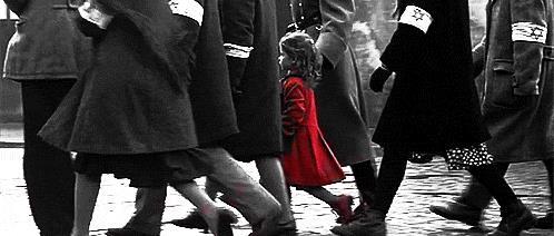 L'iconica scena di Schindler's List
