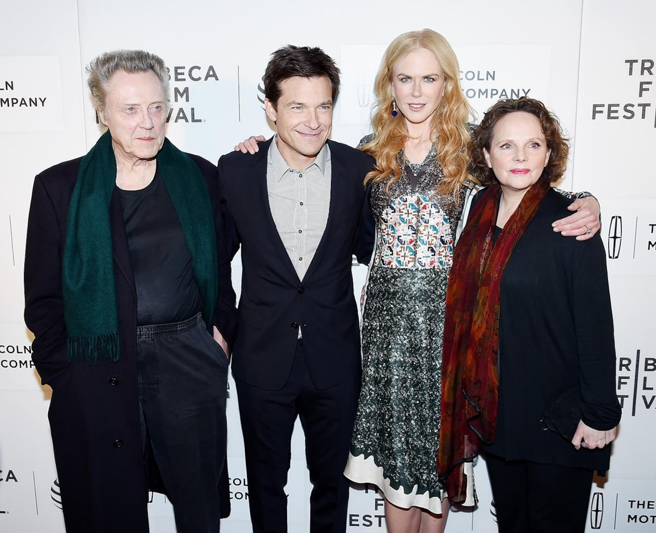 Il cast del film La Famiglia Fang al Tribeca film Festival