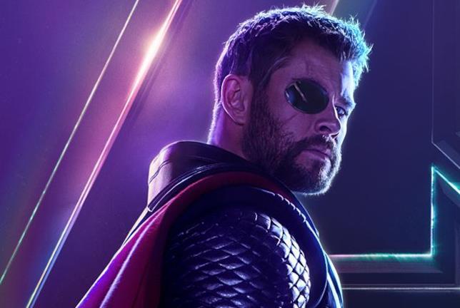 Character poster di Avengers: Infinity War dedicato a Thor