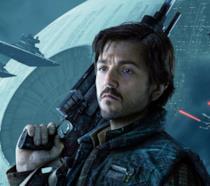 Cassian Andor in una immagine promozionale di Rogue One: A Star Wars Story