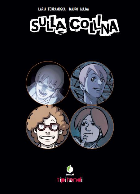 La pagina di presentazione del volume con i quattro protagonisti