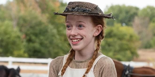 Anna Shirley nella serie TV Chiamatemi Anna