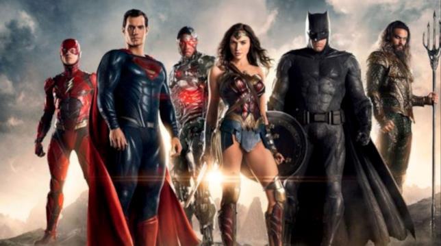 Gli eroi di Justice League
