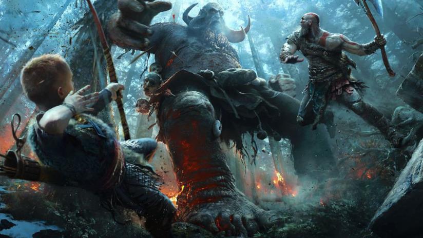 Kratos e Atreus combattono nell'ultimo capitolo di God of War
