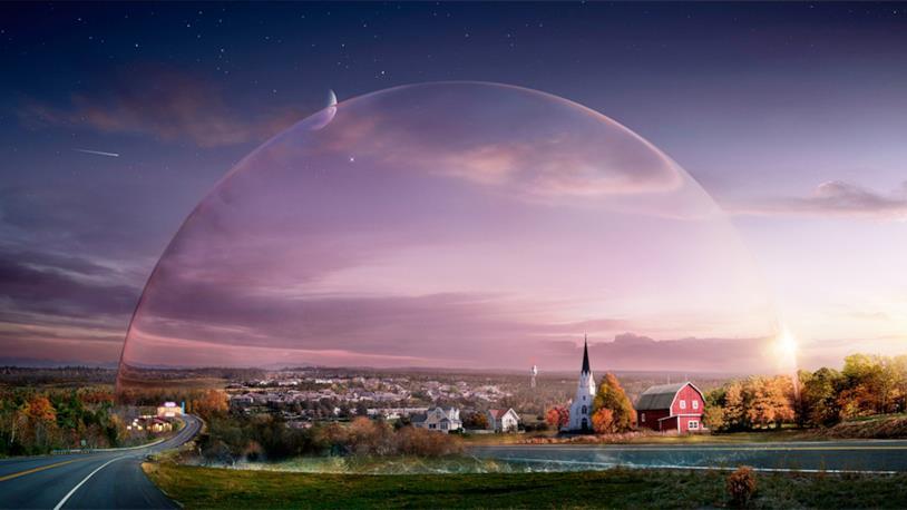 Una scena di Under the Dome