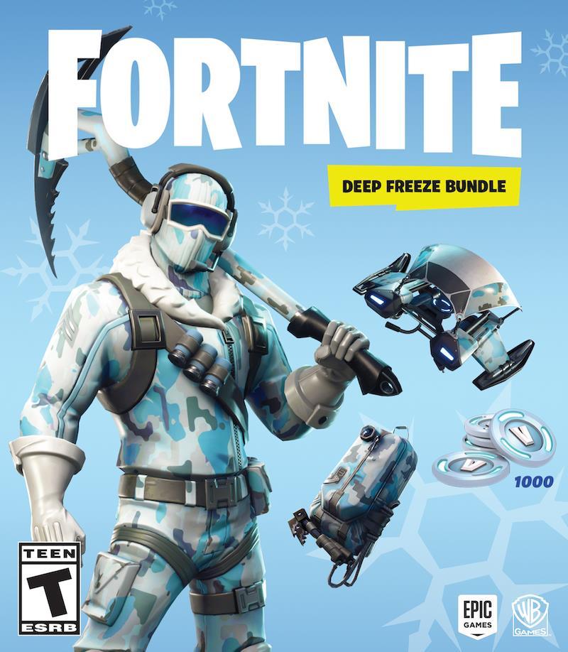 Epic Games annuncia il Pacchetto Zero Assoluto di Fortnite: Battaglia Reale
