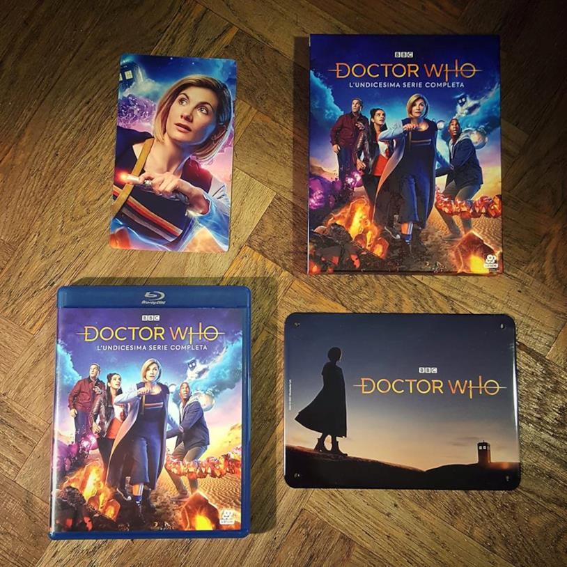 Il cofanetto Blu-ray di Doctor Who 11