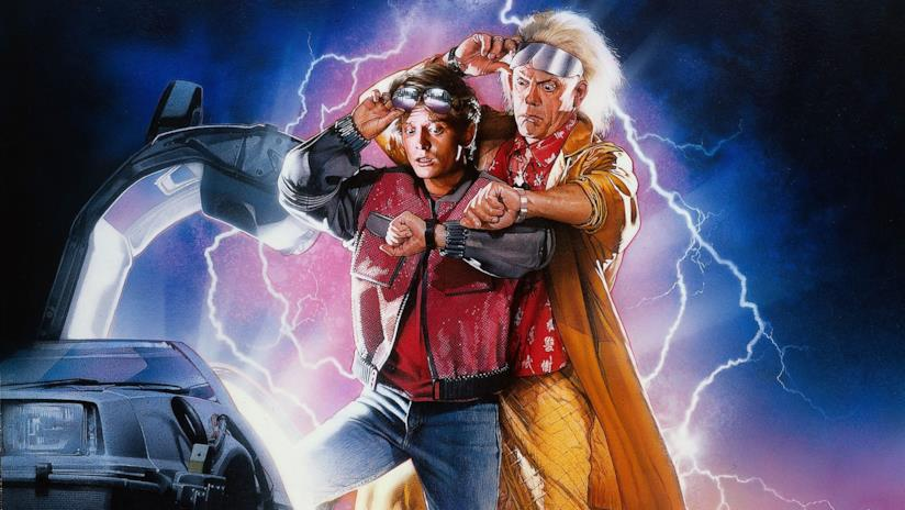 Marty e Doc, protagonisti di Ritorno al Futuro