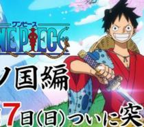 One Piece: la saga di Wano inizia anche nell'anime, ecco il trailer