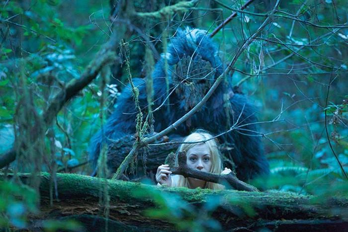 Una scena del film Primal Rage: Bigfoot Reborn