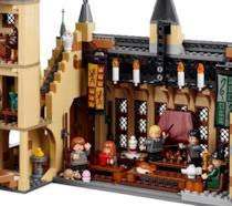 L'interno del castello di Hogwarts di LEGO