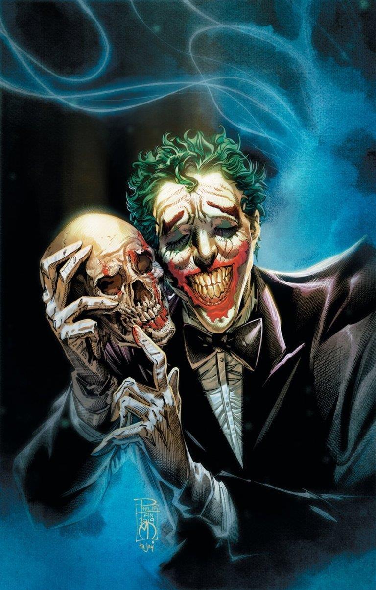 La copertina del fumetto sul Joker scritto da Carpenter
