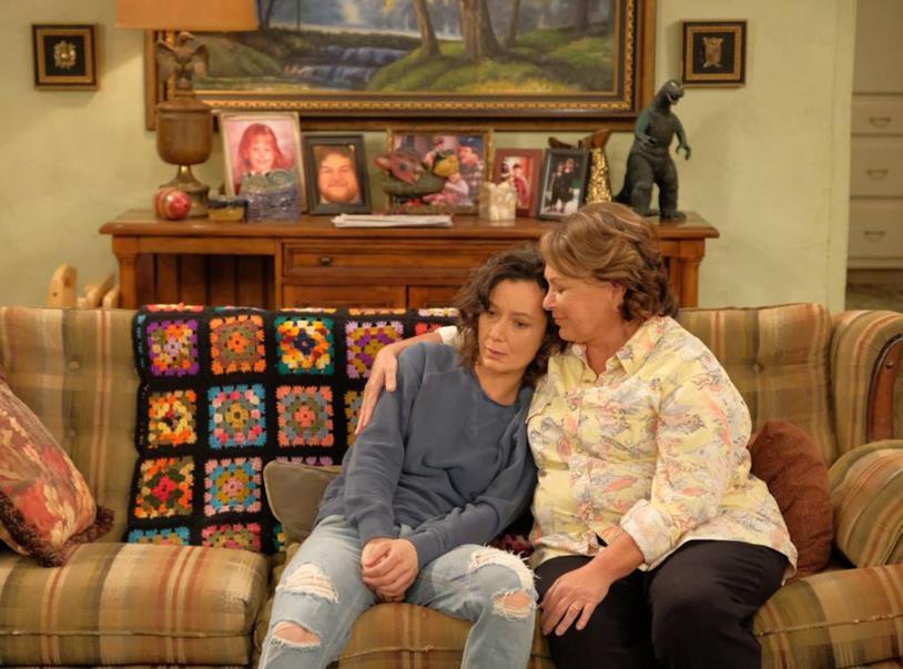 Foto dal set di Roseanne 2018