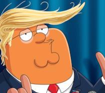 Peter Griffin nel ruolo di Donald Trump