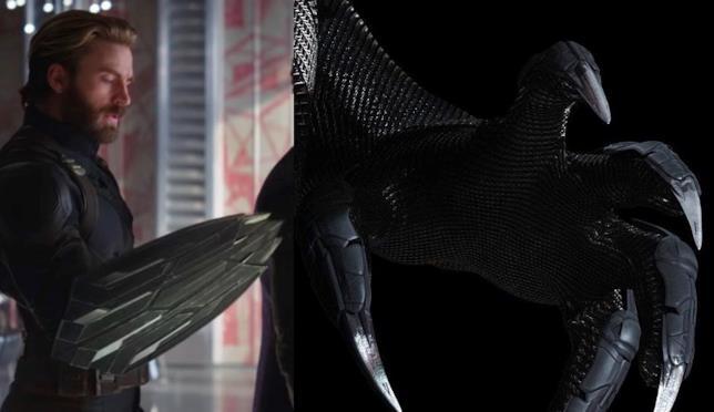 Lo scudo retrattile di Captain America e gli artigli di Black Panther possono ferire Thanos?
