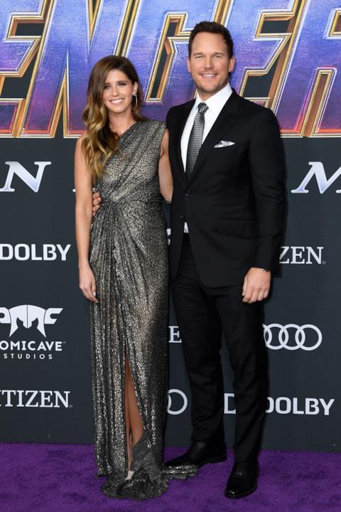 Chris Pratt e Katherine Schwarzenegger sul red carpet di Avengers: Endgame