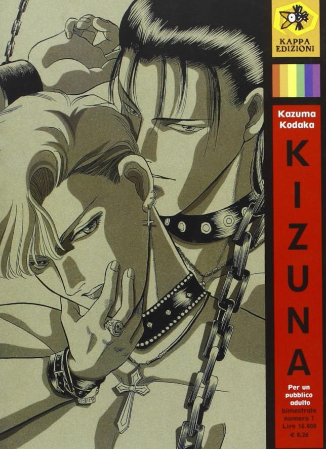 La copertina di Kizuna