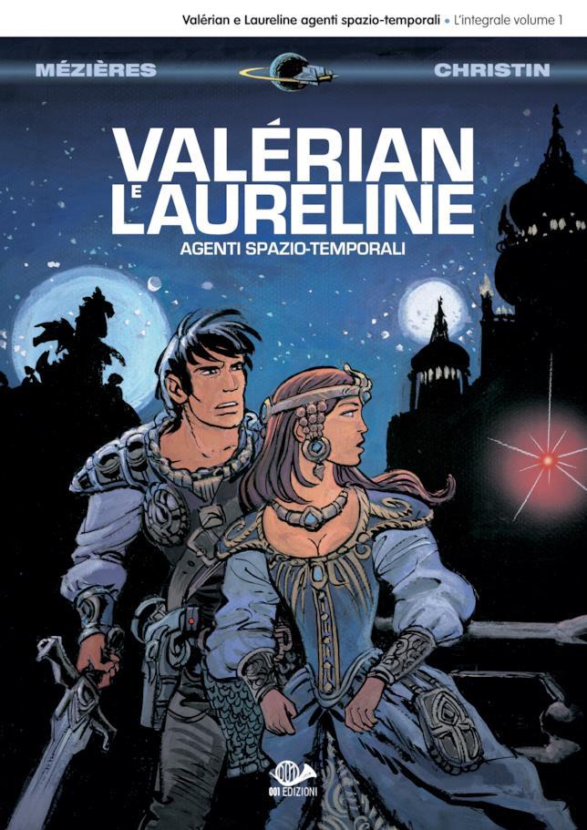 La cover del primo volume del fumetto Valérian e Laureline