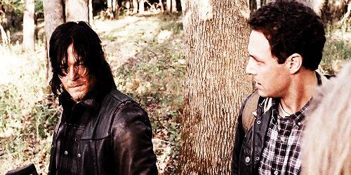 GIF di Aaron e Daryl