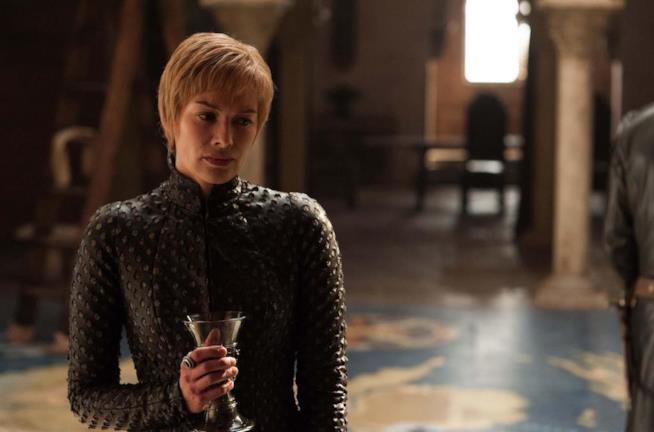 Cersei e il bicchiere di vino