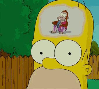 La scimmia nel cervello di Homer Simposon
