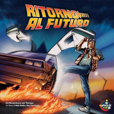 Confezione di Ritorno al Futuro Un'avventura nel tempo
