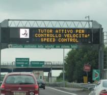 Segnazione del tutor autostradale