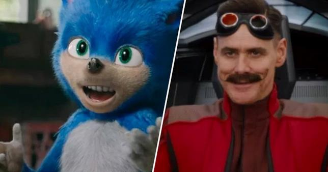 Sonic il film con Jim Carrey
