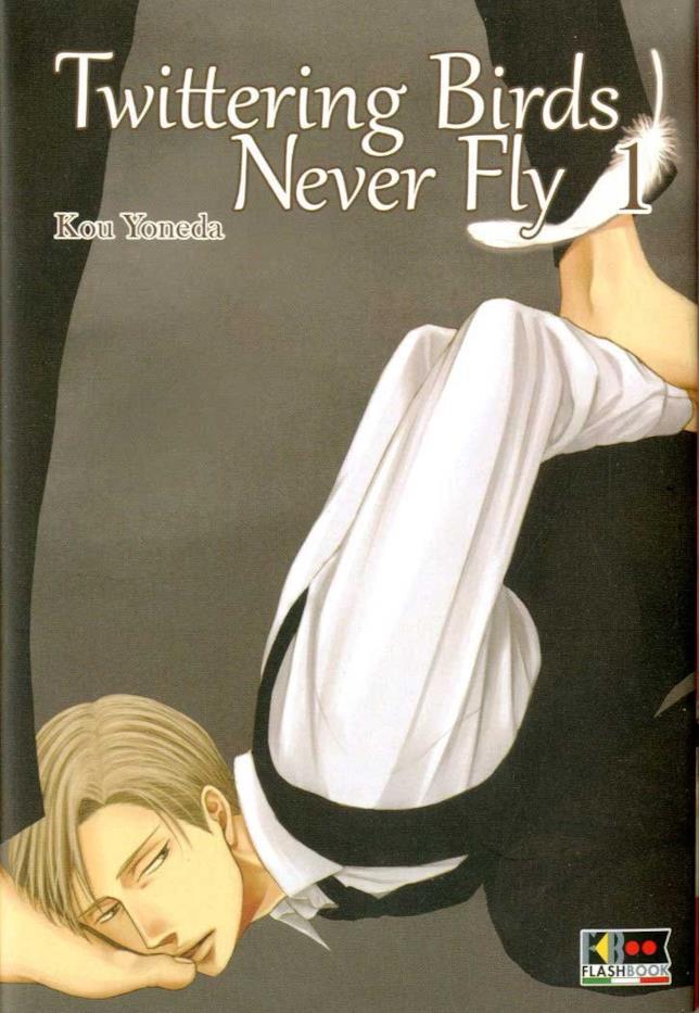 La copertina di Twittering Birds Never Fly