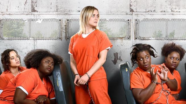 Alcune delle protaogniste di Orange is the New Black