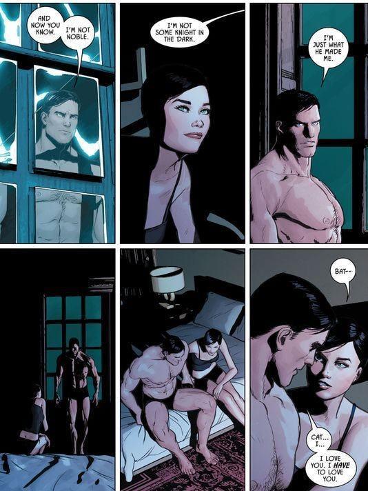 Tavola del numero 32 di Batman in uscita a breve negli Usa