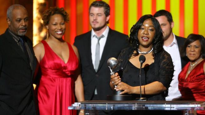 Shonda Rhimes agli NAACP Awards
