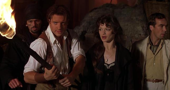 Una scena da La Mummia (1999)