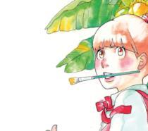 Un dettaglio della copertina di Disegna! - Kakukaku shikajika