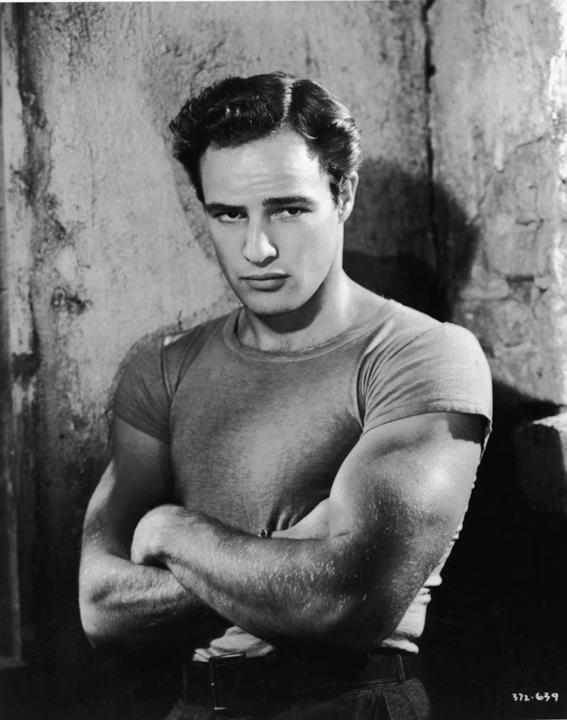 Marlon Brando primo piano