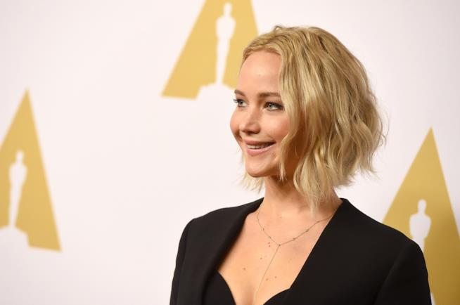 Primo piano di Jennifer Lawrence