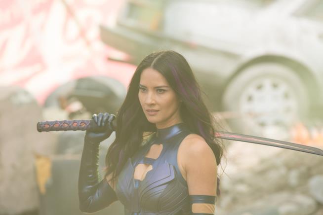 Olivia Munn ha preferito Psylocke al ruolo di Vanessa, la fidanzata di Deadpool