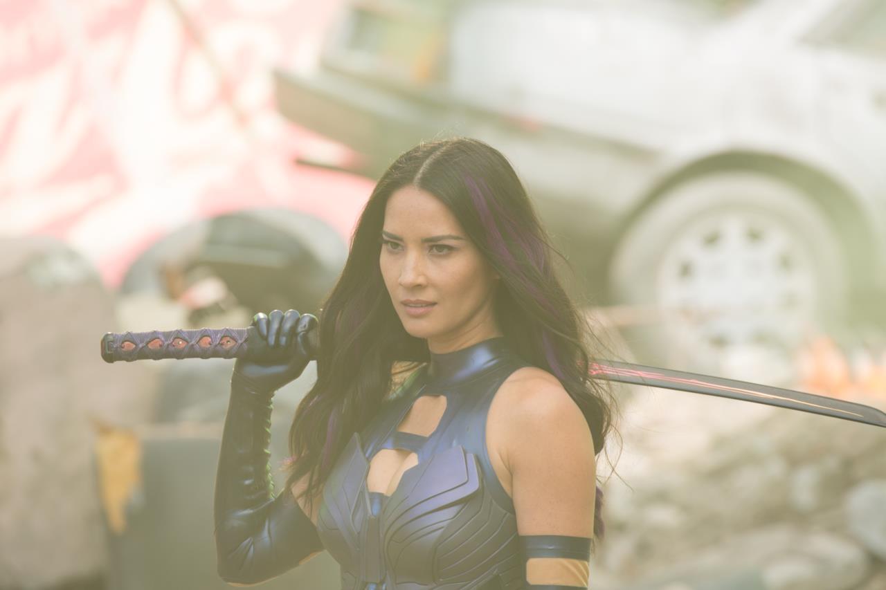 Psylocke con la sua spada