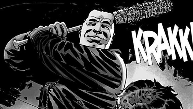 The Walking Dead: Negan nel fumetto