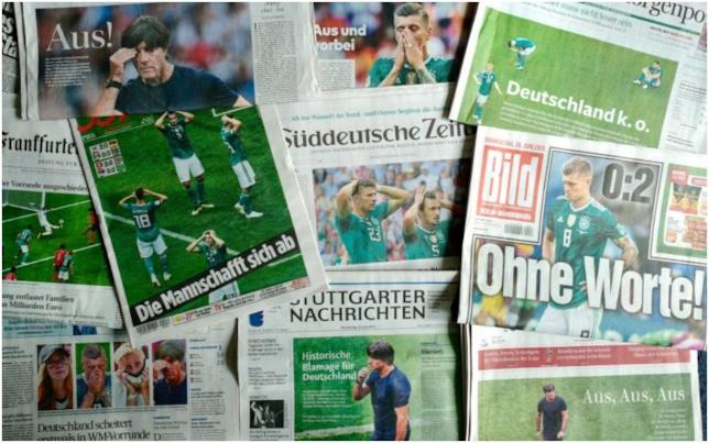 Germania fuori dai Mondiali 2018