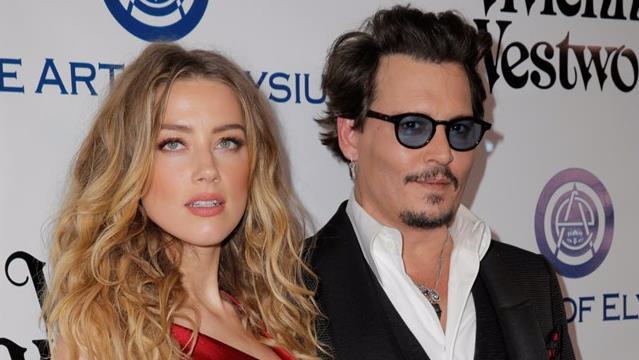 Johnny Depp e Amber Heard ai tempi in cui erano una coppia