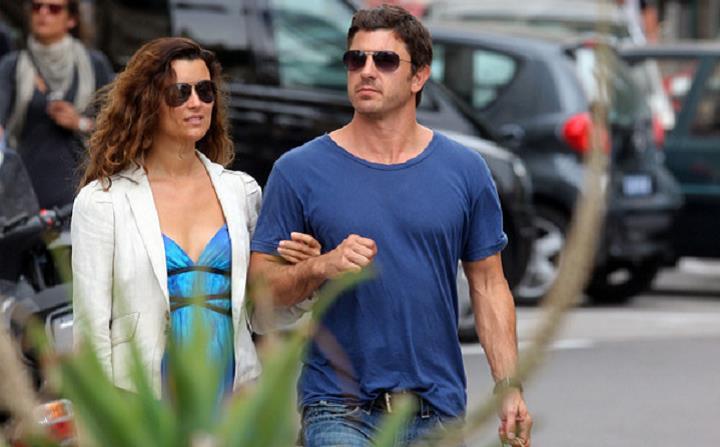 L'attrice cilena e il marito