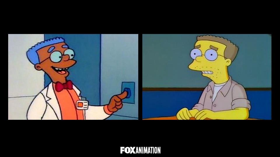 Perché Smithers era di colore in un solo episodio?