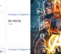 I personaggi del film Avengers: Endgame nel banner poster