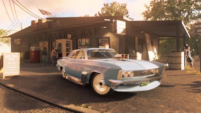 Auto personalizzata in Mafia III