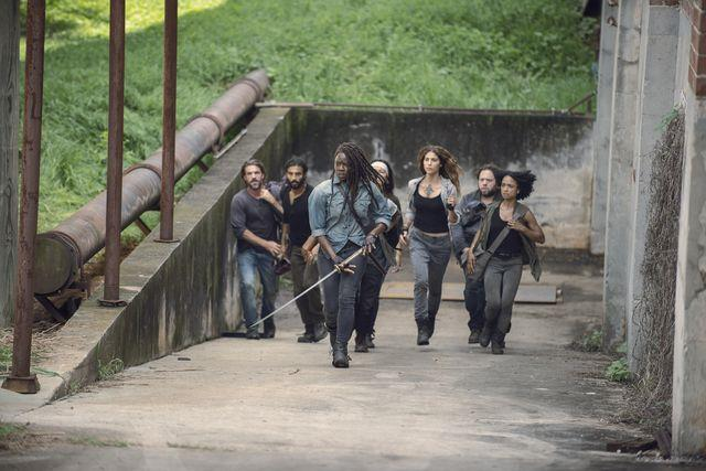 The Walking Dead 9x07: una scena dall'episodio