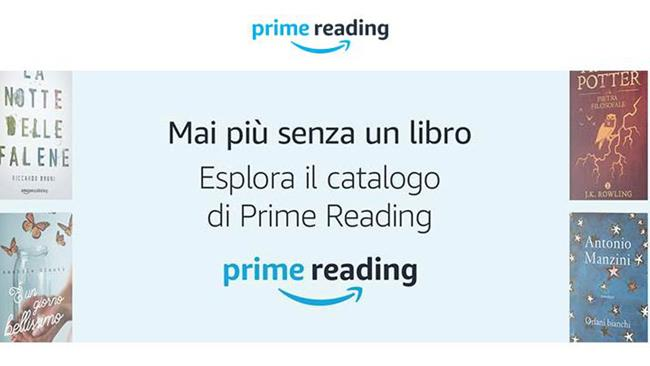 Prime Reading, opzione di Amazon Prime