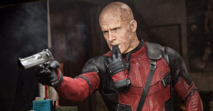 Ryan Reynolds senza maschera nel primo Deadpool